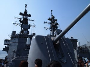 127ミリ速射砲