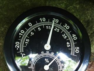 風穴の温度