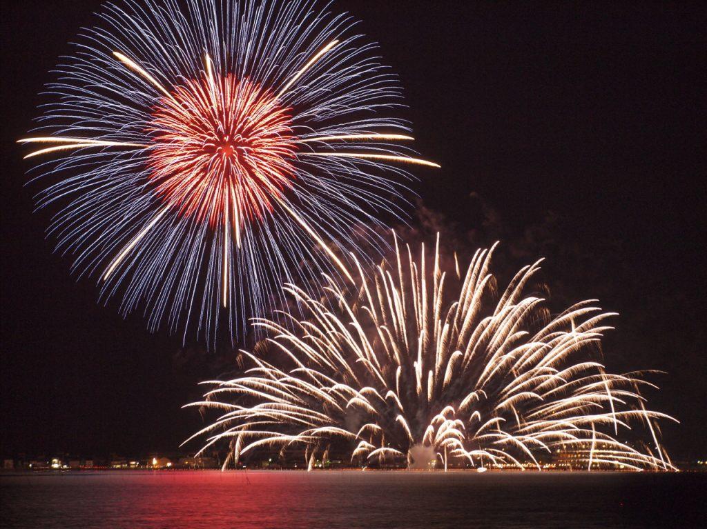 水郷祭の花火