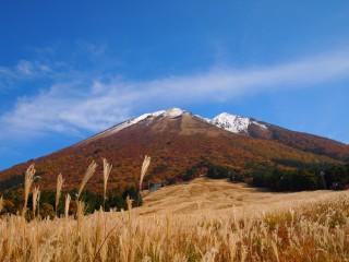 大山の紅葉 桝水高原
