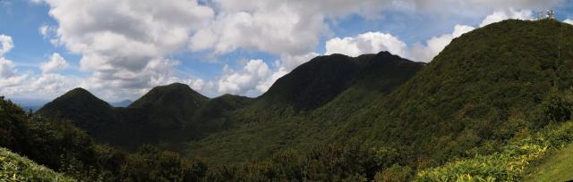 三瓶山 パノラマ サムネイル