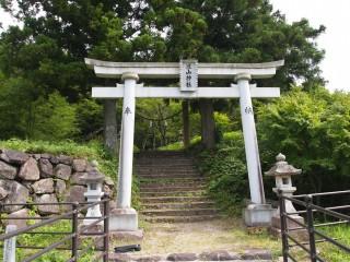 滝山神社の鳥居